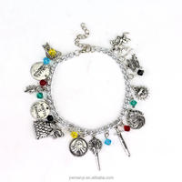 Factory Direct hot sale game thrones jewelry game of thrones jewelry charm bracelet