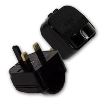 high quality European two pin to UK three pin Plug Adapter