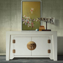 Asian creative antique living room console table/side cabinet , Classic wood side cabinet/side board(BF01-X1063)