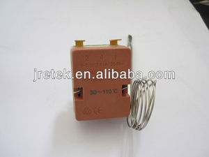 Good quality 30-110C capillary thermostat/EGO type thermostat