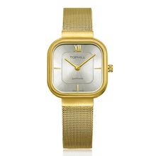 Gold Women Watches Ultra Thin Quartz Ladies Bracelet Wrist Watch