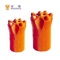 Taper Shank Hammer DTH Button Drill Bits for Granite Drill