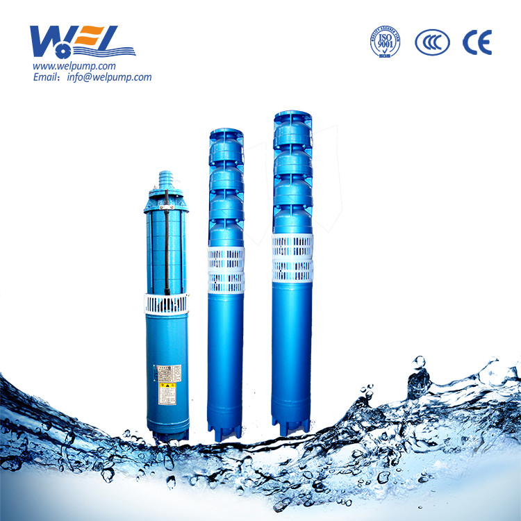 borehole vertical submersible water pump 100m head