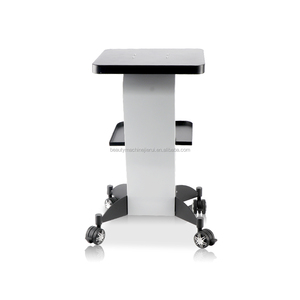 Iron Trolley Stand Assembled Roller Cart For Ultrasonic Catrolleytion RF Beauty Machines Use trolley beauty machine