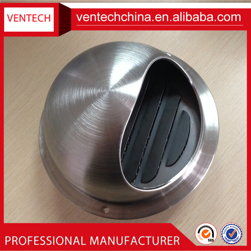 China suppliers ventilation weatherproof ball weather air louver