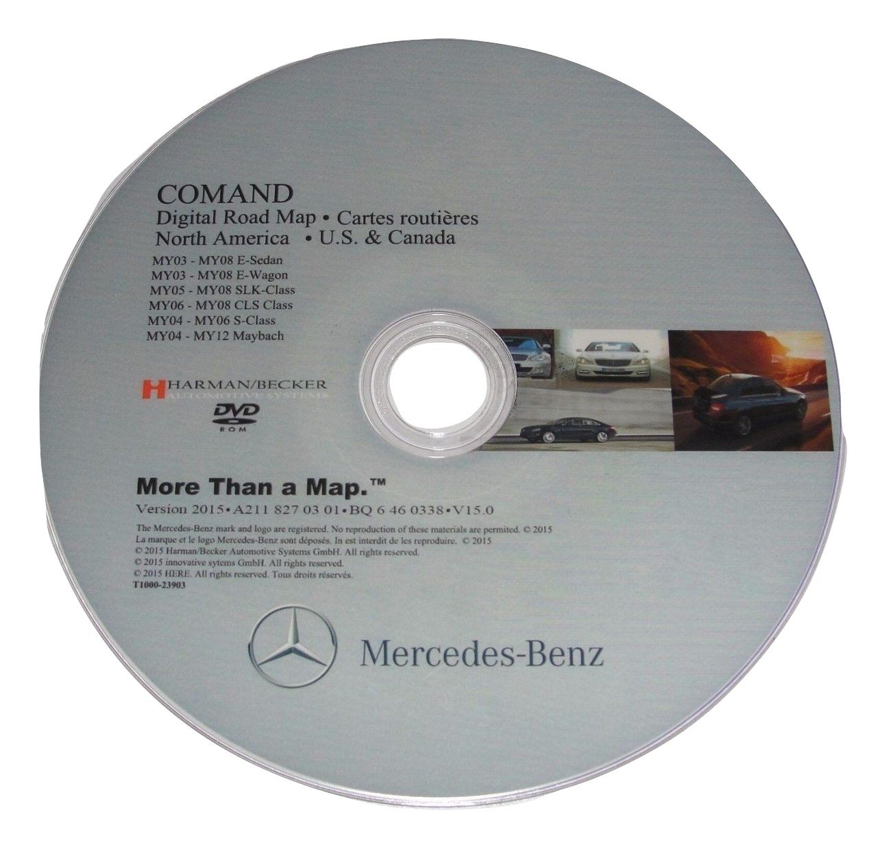 Buy LATEST MAPS UPDATE for MERCEDES BENZ NTG1 2016 v 15 NAVIGATION