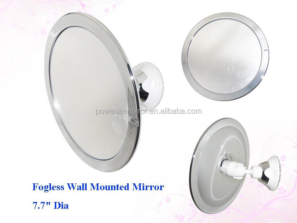 Fogless Shower Mirror Fog Free Bathroom Shaving Mirror Adjustable Wall Mounted Mirror Buy