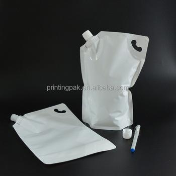 Liquid Stand Up Nozzle Wine Bag Spout Tap Dispensing Handbags