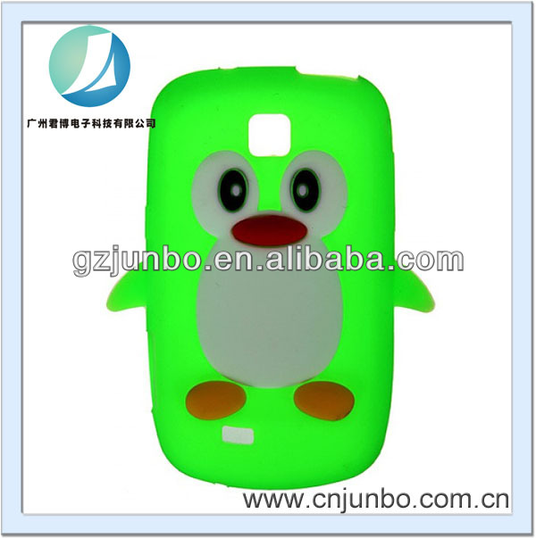 New Soft Silicon Penguin Case for Samsung S5570 Galaxy Mini