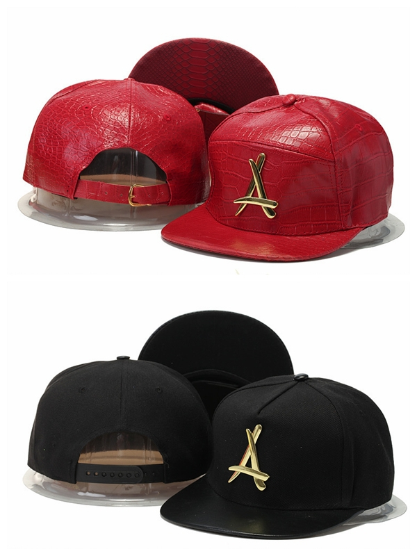 e40d9ac74f4 Get Quotations · strapback full snakeskin leather brim THA Alumni Snapback  hats metal gold A mens hiphop Casquettes gorras