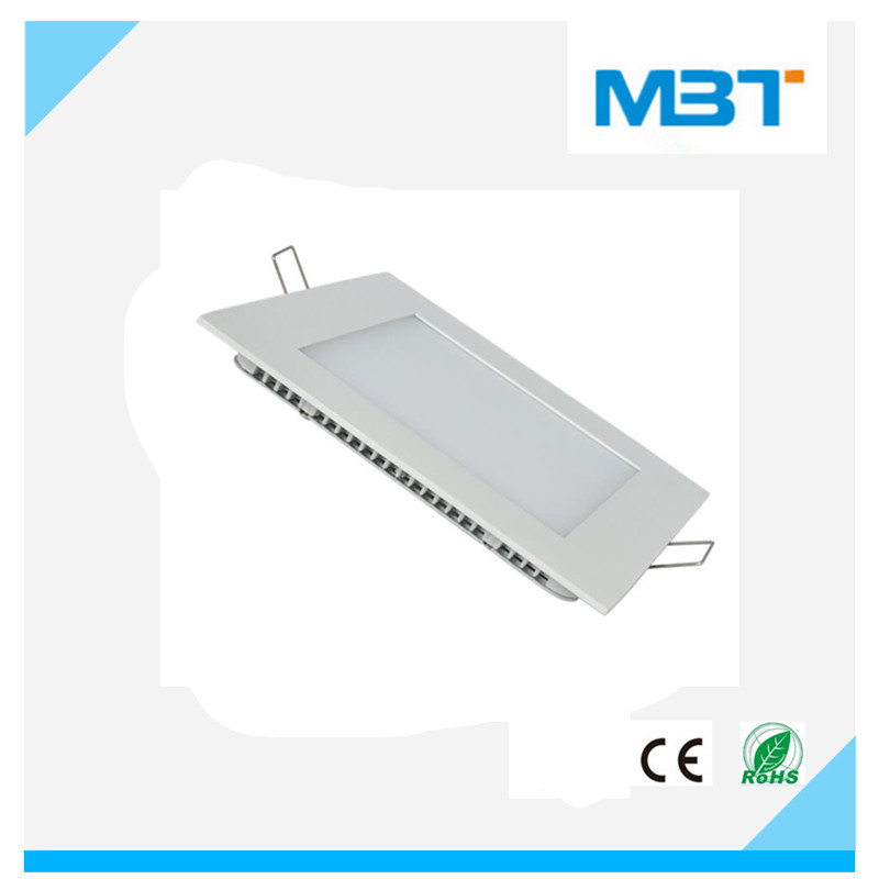 Square type embedded led panel light 3W 270lm with CE RoHS usb available