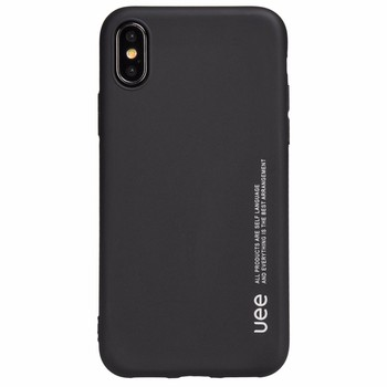 best service c18d4 c6c33 Uee Amazon's Best-selling Slim Black Matte Silicone Mobile Phone Case For  Iphone X - Buy Silicone Case For Iphone X,Silicone Mobile Phone Case,Matte  ...