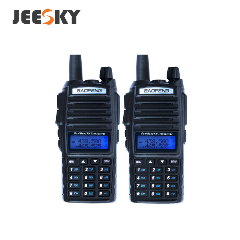 HOT baofeng uv82 5 w dual band 2 maneira de rádio amador walkie talkie de longo alcance