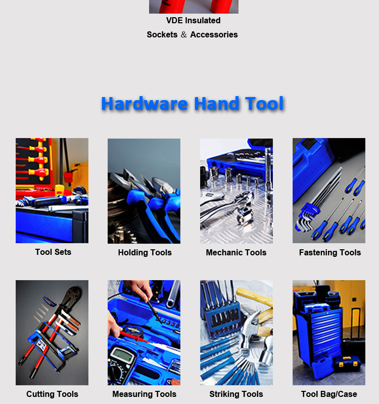 48PCS Insulated Tools Set In Suitcase And Trolley Bag