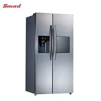 Große Größe Kühlschrank Mit Eismaschine, Wasserspender