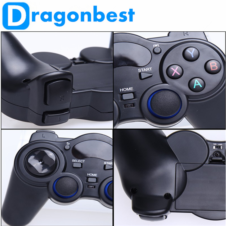 2017 New design 2.4G RF Wireless Gamepad tv keyboard video game for medical use Joystick & control