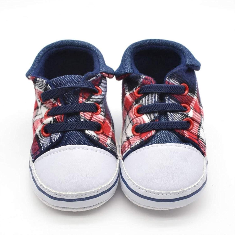 Voberry Prewalker Infant Sweet Canvas Sneaker Anti-skid Soft Shoes Trainer