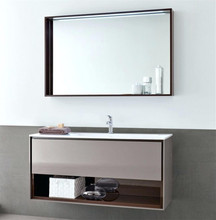 Foshan factory used rv stainless steel design bathroom vanity with ready-made price on sale