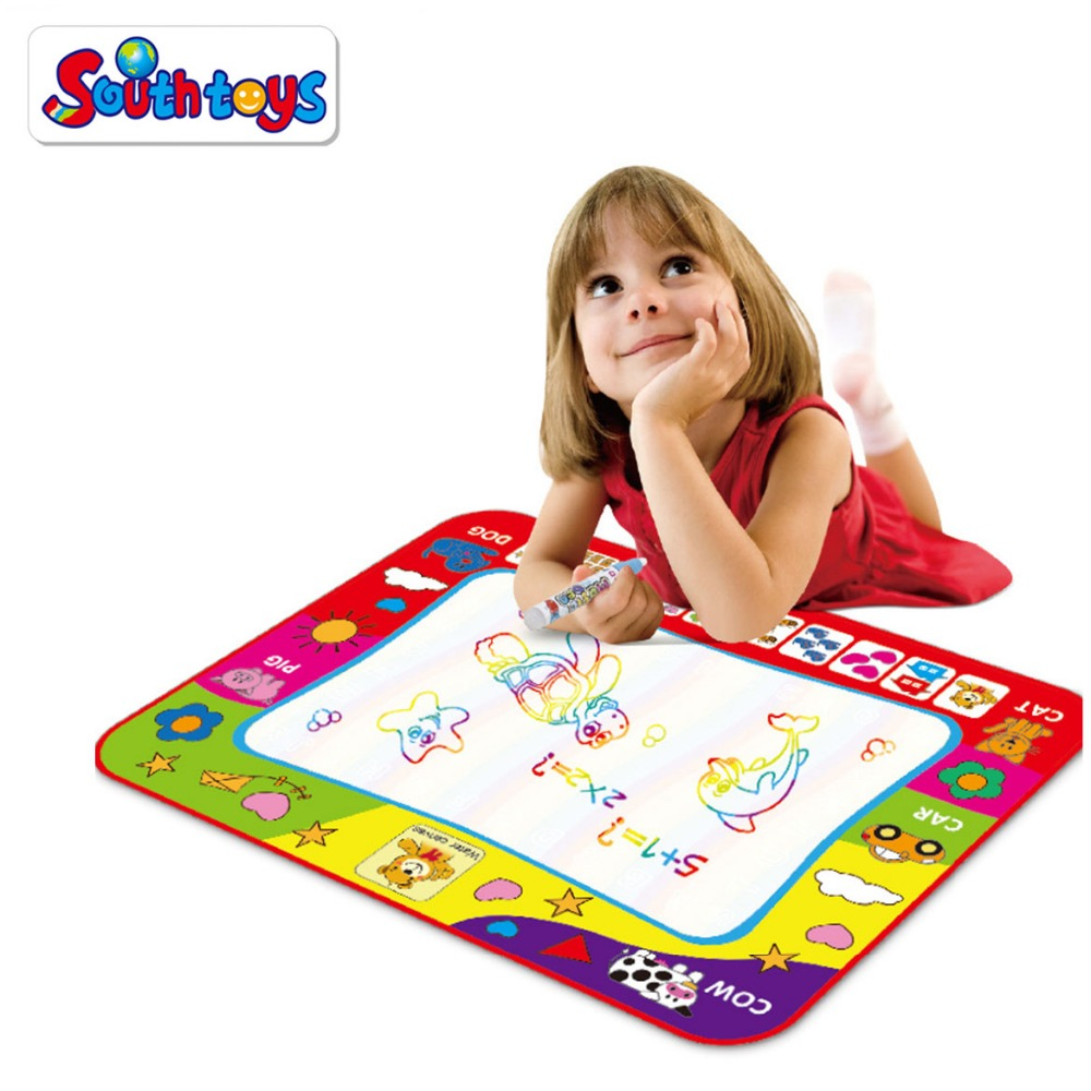 Kids Educational Water Canvas Writing Painting Drawing Mat Creative Gift