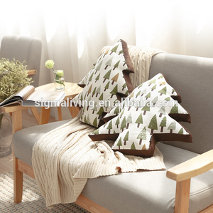 Simple Fashion christmas tree cushion