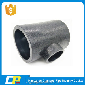 pe hdpe pipe fittings elbow tee reducer pipe fitting