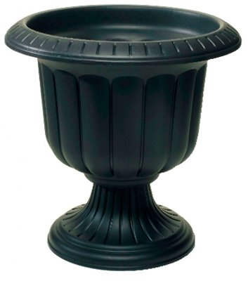 Large Black Urn Planters Find