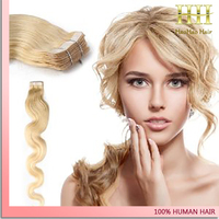 hair for white women straight wavy blonde human hair products high grade tape hair extension