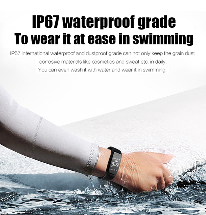 2017 Certificed Professional Smart Watch Waterproof Smart Bracelet for Christmas Gift