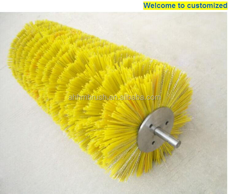 Langyou PP PA Material Brushes Used For Cleanning Street Road And Snow brush Forklift Road Sweeper