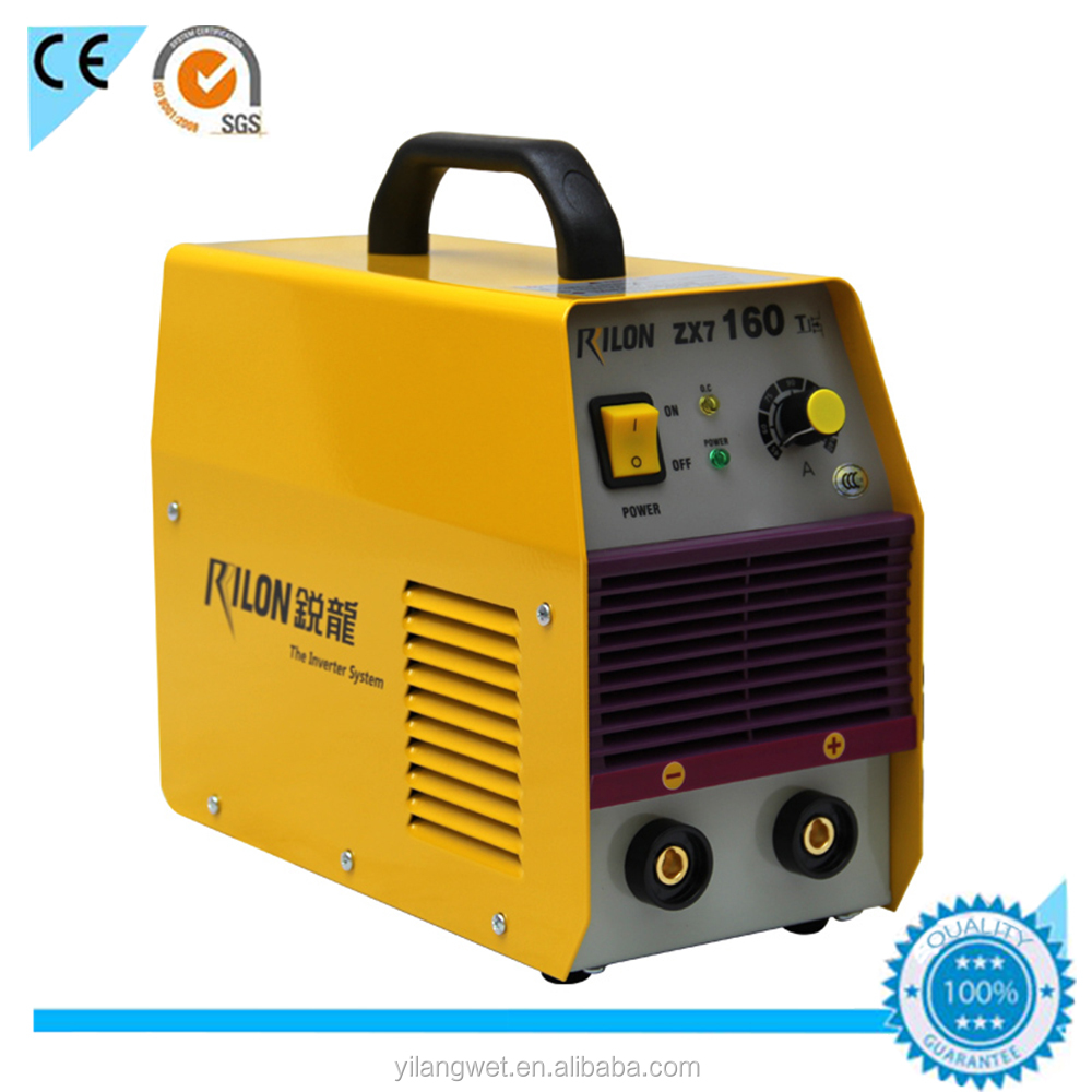 Hot selling alibaba Rilon dc inverter mma welding machine zx7-160
