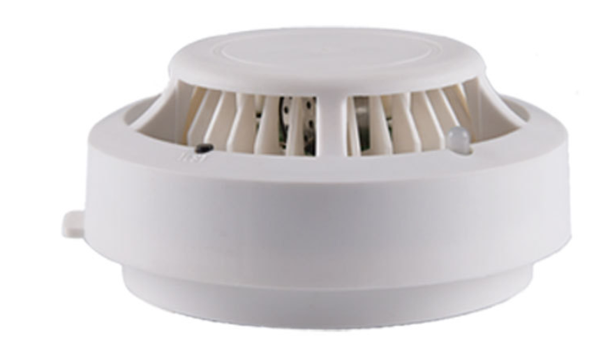 Plastic parts 433mhz smoke detector 10 year lithium
