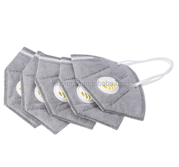 Custom printed face shield pollution mask N95 N99 anti dust mask breathing disposable face mask