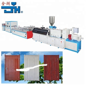 WPC Board Making Machine/WPC Door Production Line/WPC Decking Boards Extrusion Machine