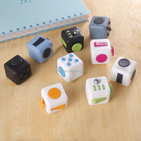2017 latest 13 colors fidget toys for adults stress fidget cube relieves stress&anxiety attention toy