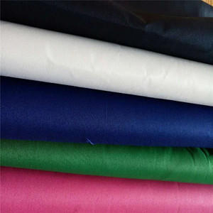 2018 exporting Plain Dyed 100% Cotton Fabric, Plain 40S Poplin Fabric Cotton