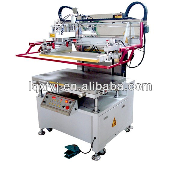 Vertical vacuum table solder paste screen printer