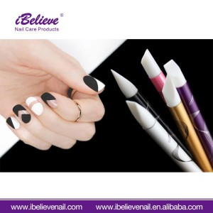 Best Selling Gel Nail Art Carving Pen Nail Art Paint Silicone Pen