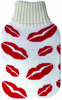 hot sweet lip design knitted hot water bottle cover