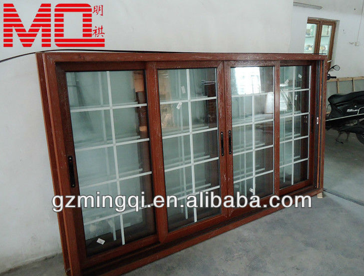 Aluminum Sliding House New Window Grill Design