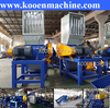 pe pp plastic film bags pet bottle plastic crusher machine