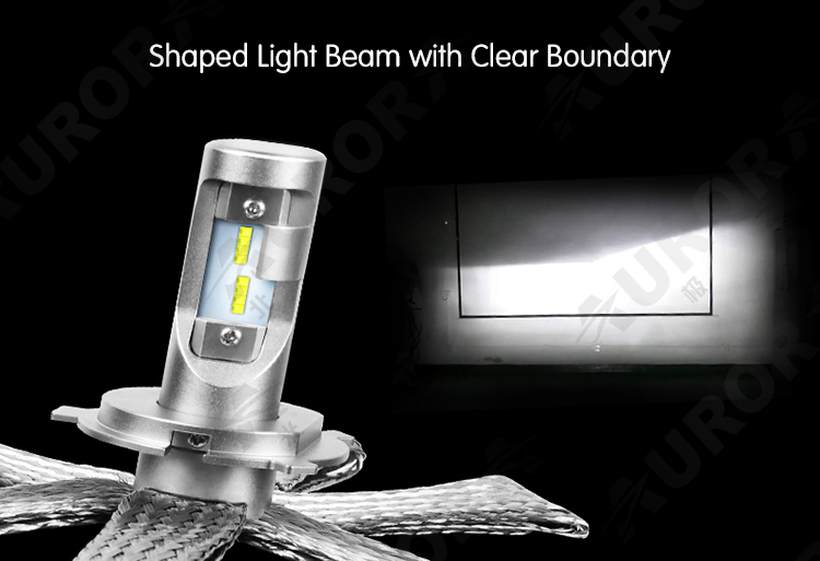Super Bright LEDS H8 H9 Headlights H7 H3 automotive led headlights lighting H4 9006