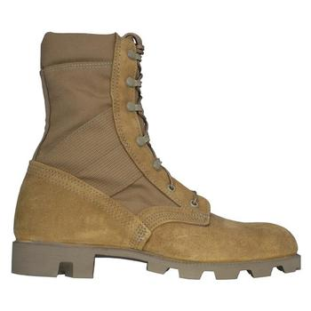 Military Brown Desert Combat Boots With