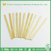 Eco-friendly high quality round hawaiian bamboo popsicle sticks