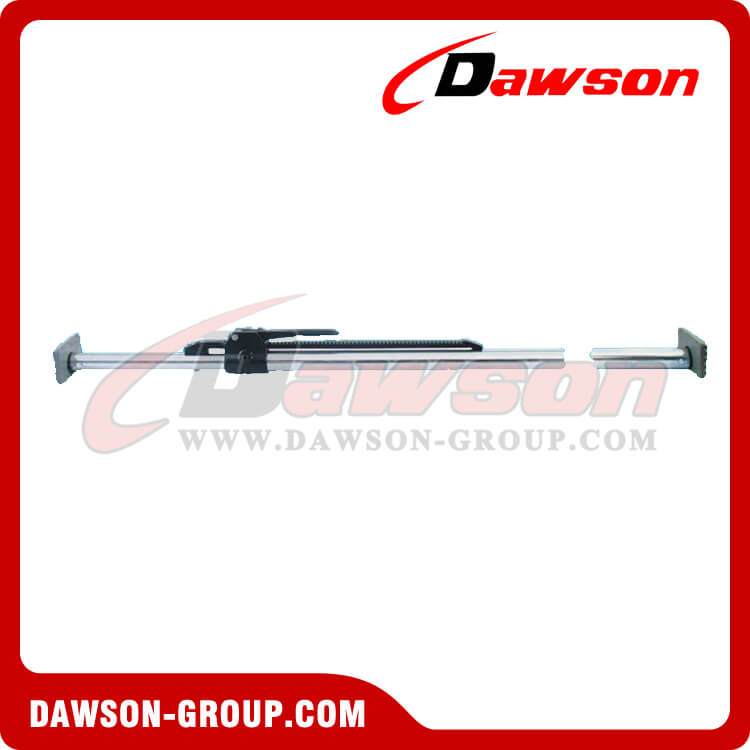 Stabilizer load lock aluminum ratcheting cargo bar