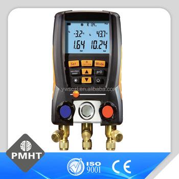 Air Conditioner Unit Tools Refrigerant Testo 550 570 Digital Manifold - Buy  Refrigerant Gauges,Digital Manifold Gauge,Digital Manifold Product on