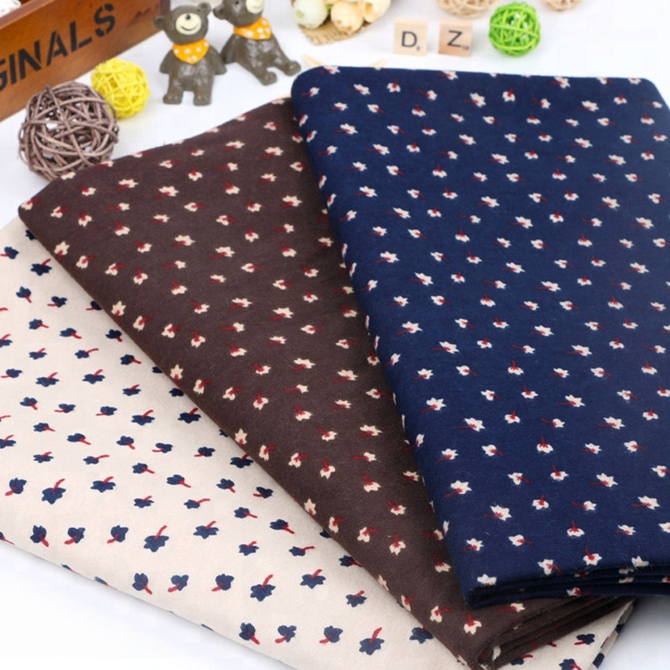 cotton flannel fabric cut pieces to Malaysia market cotton fabric / cvc fabric in bales