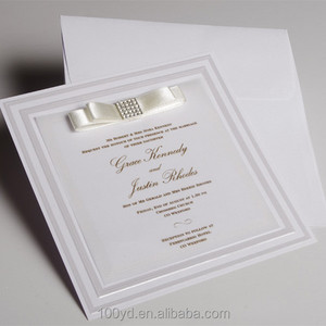 creative custom invitations cards product of wedding card packs Customized design Invitations Cards