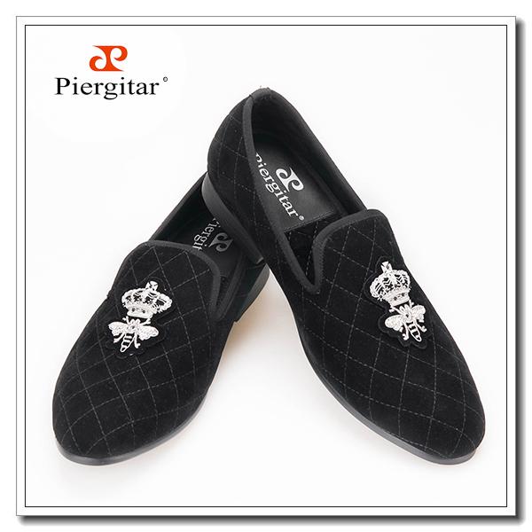 loafer bullion men shoes velvet black qUPwSUg