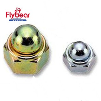 Hex Domed Cap Nuts Din1587 Zinc-plated Decorative Cap Nut 904l Hex Nuts -  Buy Decorative Cap Nut,Types Nuts Bolts,Copper Cap Nut Product on