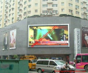 vivid fullcolor business advertising video P25 led signs